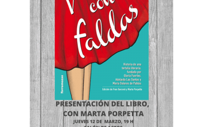 """Presentación del libro """"Versos con faldas""""."""