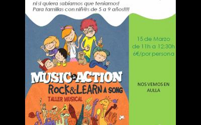 Taller Musical en inglés: «Rock & Learn a song»