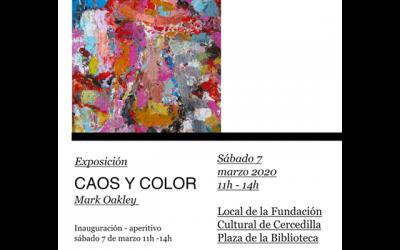 """Mark Oakley: """"Caos y Color"""""""