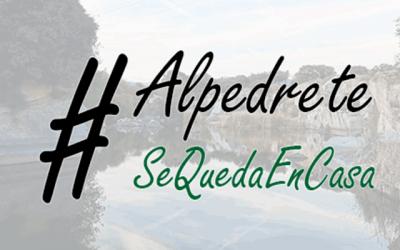 #AlpedreteSeQuedaEnCasa