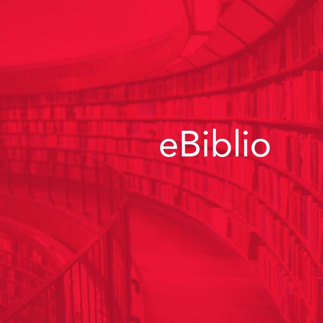 eBiblio: Más de diez mil libros y cuatro mil películas.