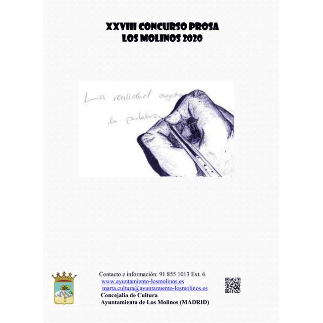 XXVIII Concurso de Prosa Los Molinos 2020.