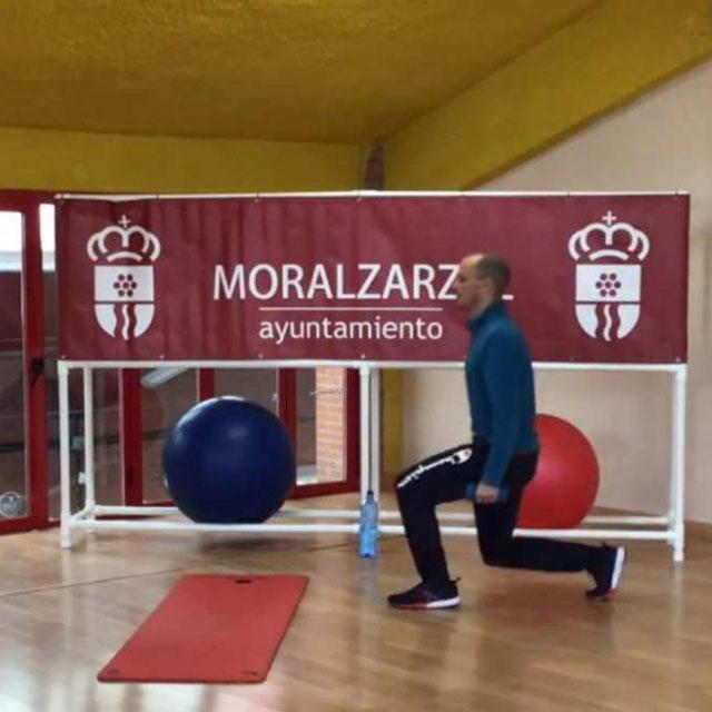 """""""Actívate en Casa"""", en Moralzarzal."""