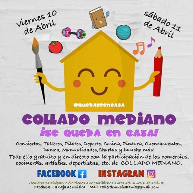 Festival «Collado Mediano Se Queda En Casa»