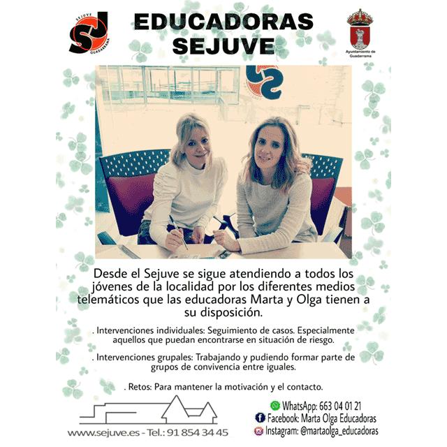 Educadoras SEJUVE (Guadarrama)