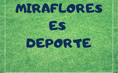 Actividades deportivas, en Miraflores de la Sierra.