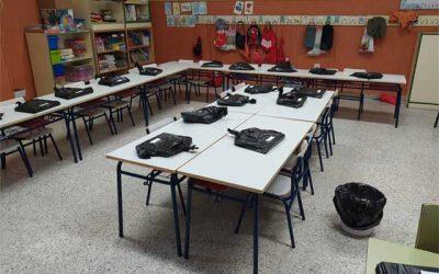 Reparto de libros en Guadarrama