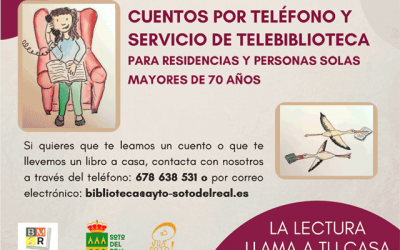 Telebiblioteca y Cuentos por teléfono.