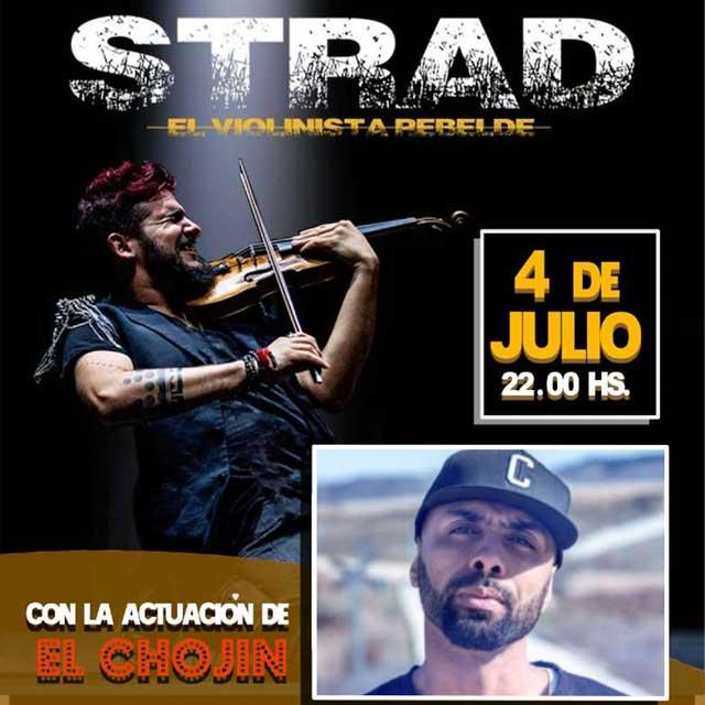 """""""Strad: El violinista rebelde"""" + El Chojin"""