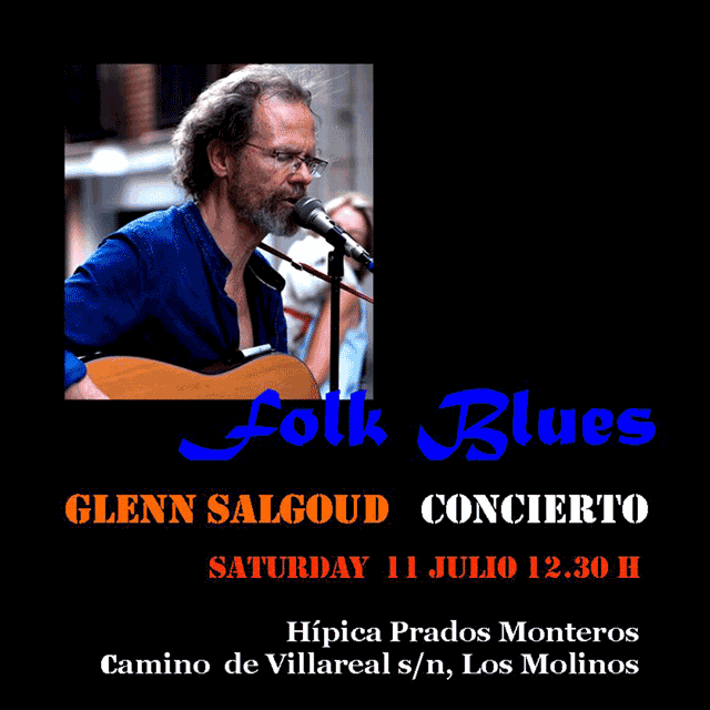 "Glenn Salgoud: ""Folk Blues"""