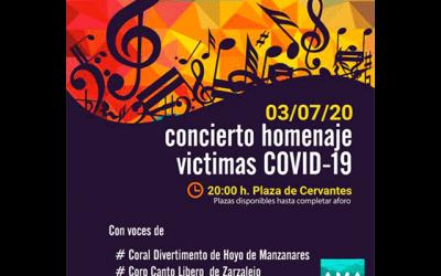 Concierto Coral: Homenaje a las víctimas del Covid19.