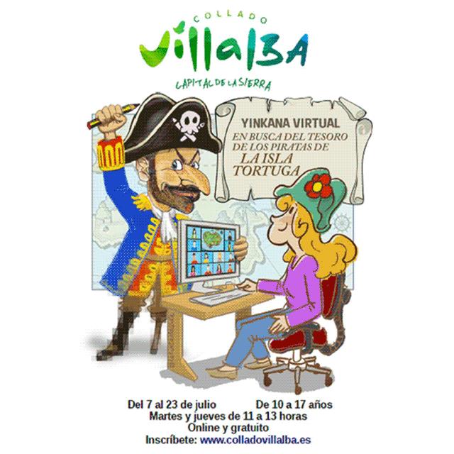 """Gymkana virtual: """"El tesoro de los piratas de la Isla Tortuga"""""""