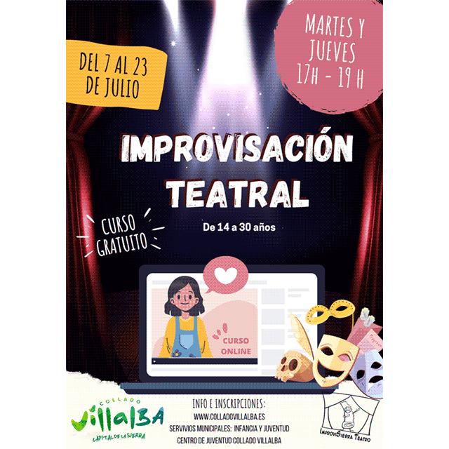 Taller: Improvisación teatral.