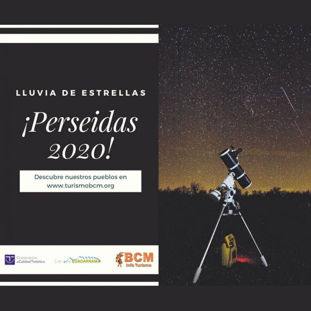 Lluvia de Estrellas: Perseidas 2020