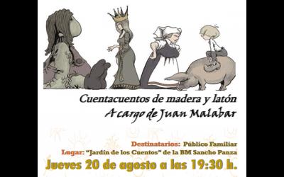 """Juan Malabar: """"Cuentacuentos de Madera y Cartón"""""""