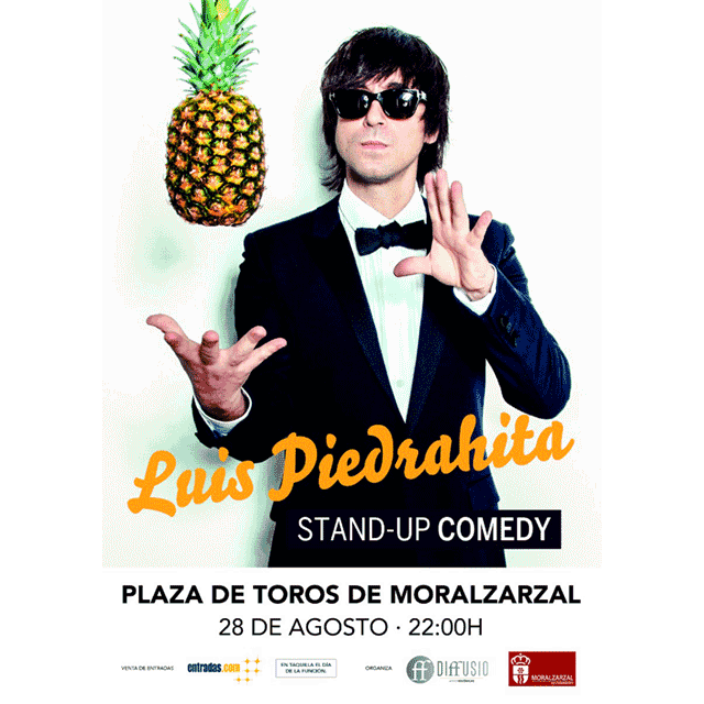 "Luis Piedraita: ""Stand-Up Comedy"""