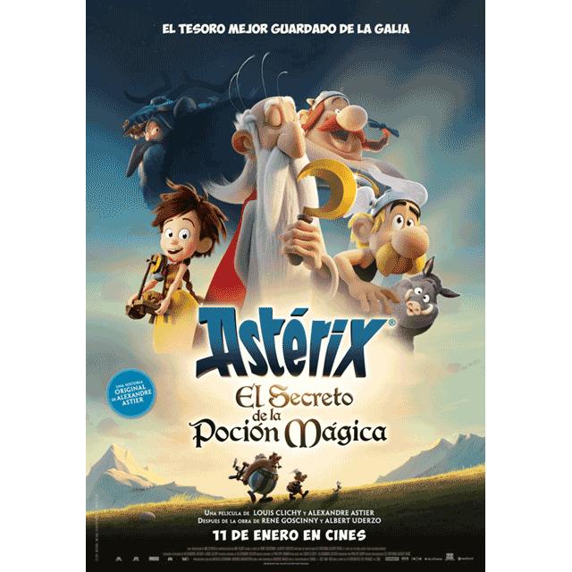 """Cine de verano: """"Asterix: El secreto de la poción mágica"""""""