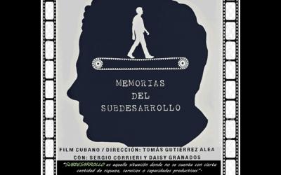 """Cine Club Jesús Yagüe: """"Memorias del Subdesarrollo"""""""