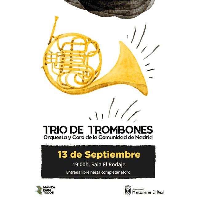 Trío de Trombones (Orquesta y Coro de la Comunidad de Madrid)
