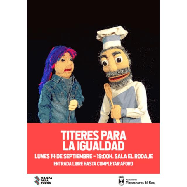 """Marimba Marionetas: """"Títeres para la igualdad"""""""