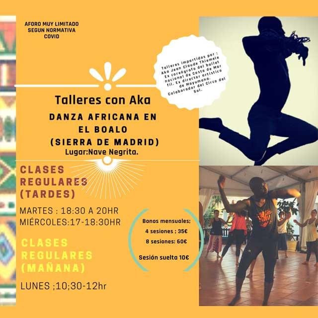 Taller: Danza Africana