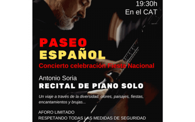 Antonio Soria: Recital de piano.