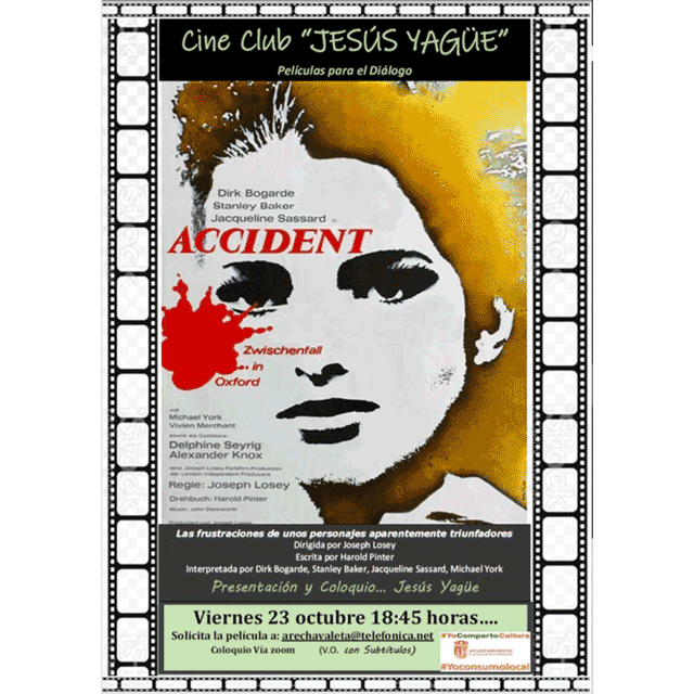 "Cine Club Jesús Yagüe: ""Accidente"""