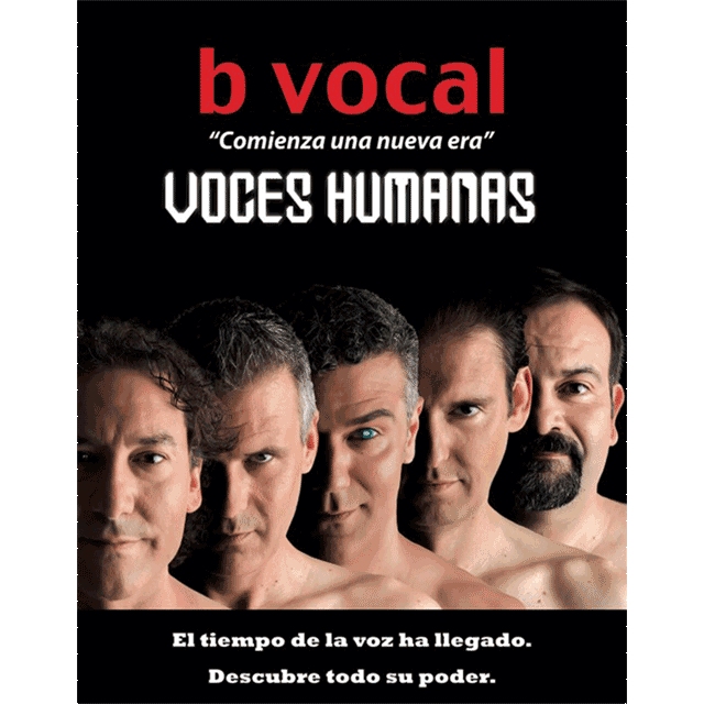 "B vocal: ""Voces humanas"""