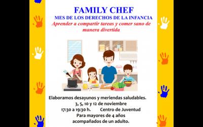 """Taller: """"Family Chef"""""""