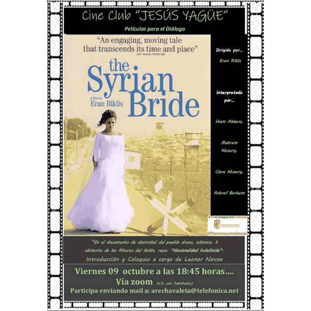 "Cine Club Jesús Yagüe: ""La novia siria"""