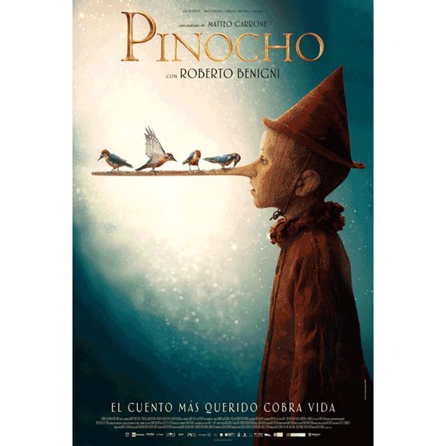 "Cine: ""Pinocho"""