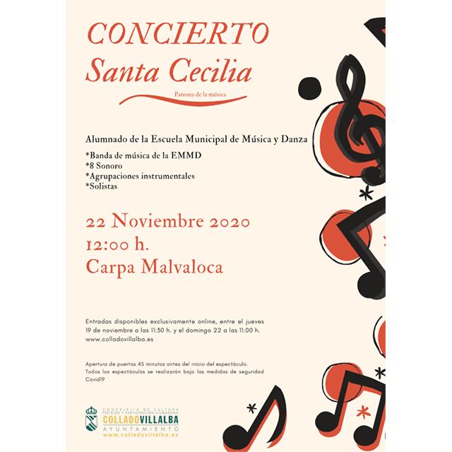 EMMD de Collado Villalba: Concierto Santa Cecilia