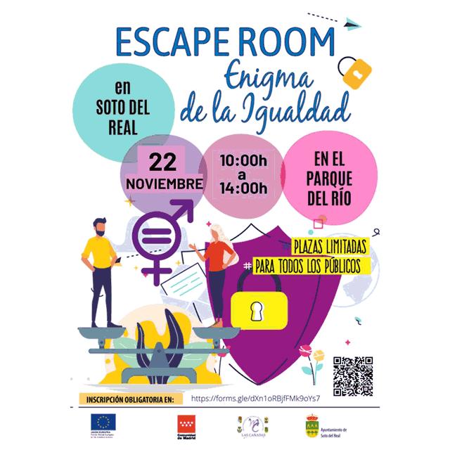 """Escape Room: """"Enigma de la Igualdad"""""""