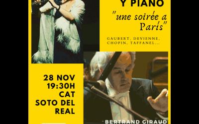 """Recital de flauta y piano: """"Una tarde en París"""""""