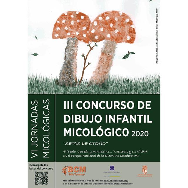 """III Concurso de Dibujo Infantil Micológico: """"Setas de otoño"""" (2020)"""