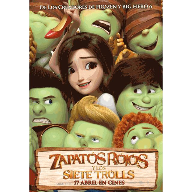 """Cine de verano: """"Zapatos rojos y los siete trolls"""""""