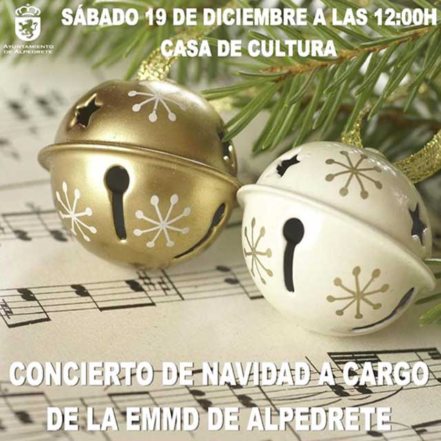 Concierto de Navidad: EMMD de Alpedrete