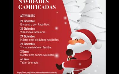 Talleres y actividades en familia para una Navidad segura.