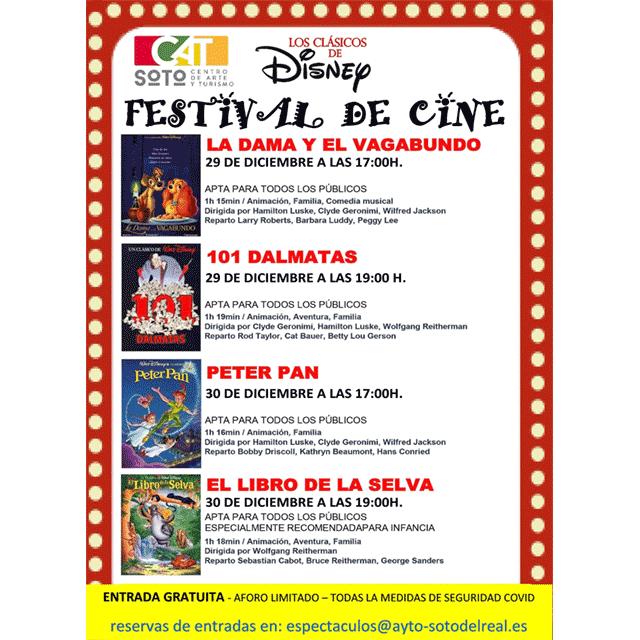 """Festival de Cine: """"Clásicos de Disney"""""""