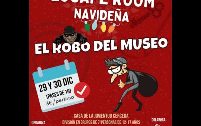 """Escape Room: """"El robo del museo"""""""