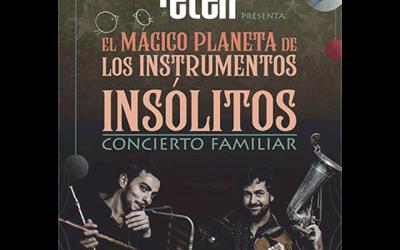 """""""El mágico planeta de los instrumentos insólitos"""""""
