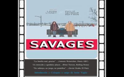 """Cine Club Jesús Yagüe: """"La familia Savages"""""""