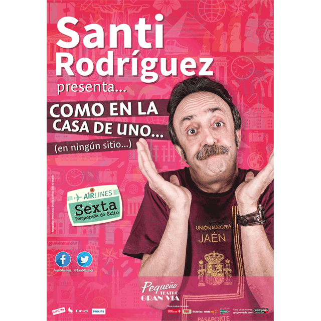 """Santi Rodríguez: """"Como en la casa de uno…"""""""
