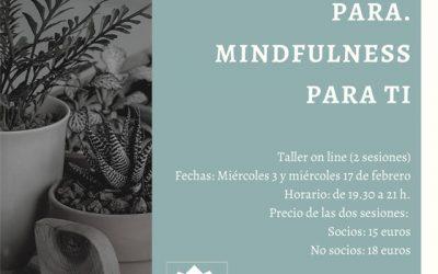 """""""Mi mente no para… Mindfulness para ti"""""""