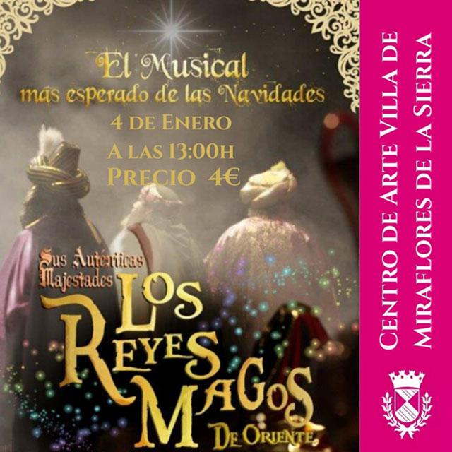 """Musical: """"Los Reyes Magos de Oriente"""""""