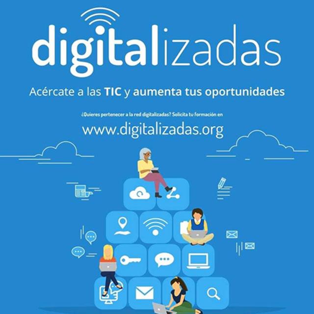 Digitalizadas: Taller de habilidades digitales para el empleo.