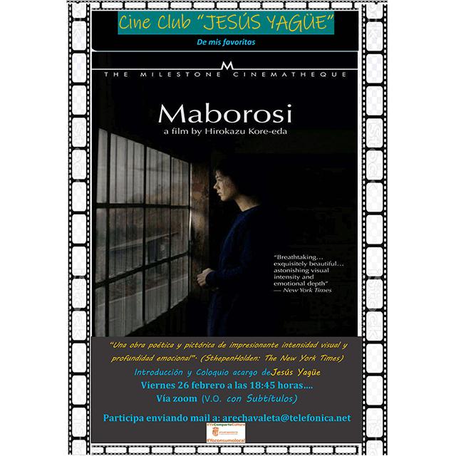 "Cine Club Jesús Yagüe: ""Maborosi"""