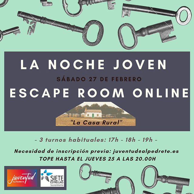 "Escape Room: ""La casa rural"""