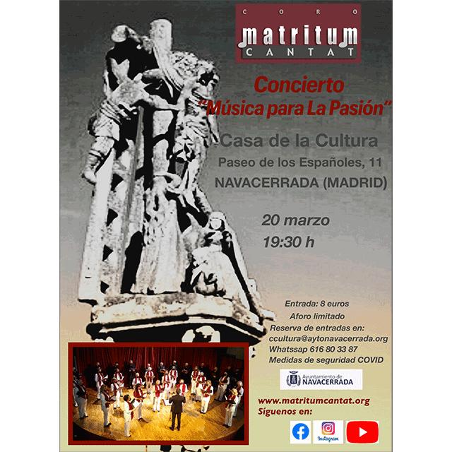 """Concierto: """"Música para La Pasión"""""""
