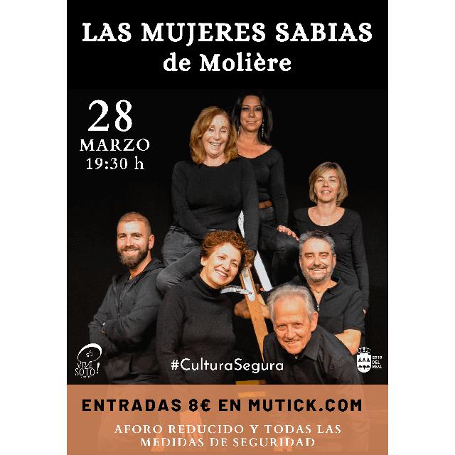"""""""Las mujeres sabias"""", de Moliere."""